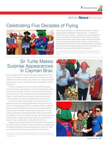 Cayman Airways Skies Airline Info