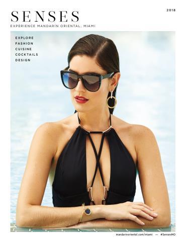 Mandarin Oriental, Miami Senses 2018