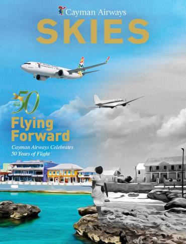 Cayman Airways Skies July-August 2018