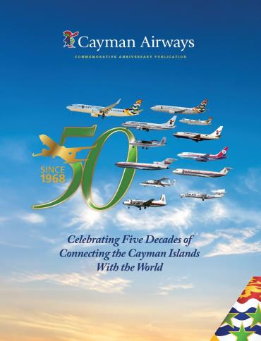 Cayman Airways 50th Anniversary Booklet