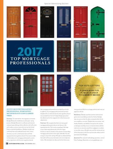 Top Mortgage Professionals