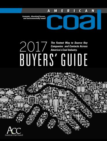 American Coal 2017 Buyers' Guide