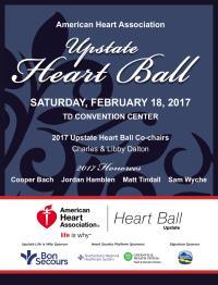 2017 Upstate Heart Ball